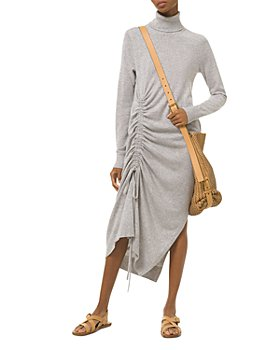 MICHAEL Michael Kors - Cashmere Draped Turtleneck Dress