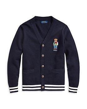 Ralph Lauren - Boys' Bear Cardigan Sweater - Big Kid