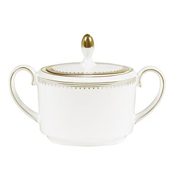 Wedgwood - Golden Grosgrain Sugar Bowl