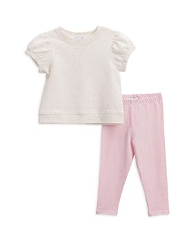 Splendid - Girls' Speckle Top & Leggings Set - Baby
