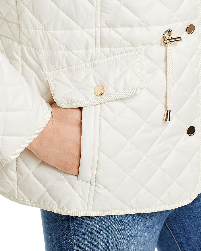 KATE SPADE Jackets KATE SPADE NEW YORK HOODED QUILTED JACKET