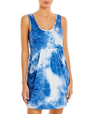 J. Valdi Tie Dye Deep Pocket Mini Dress