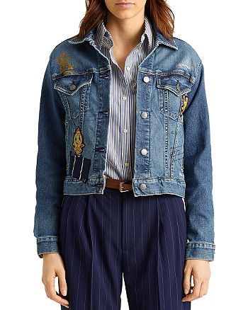 Ralph Lauren - Patch Boxy Denim Jacket