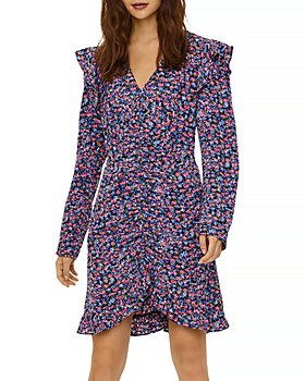 Vero Moda - Aya Floral Print Ruffled Dress