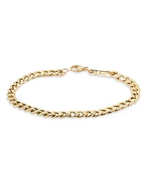 Zoë Chicco 14k Yellow Gold Curb Chain Bracelet