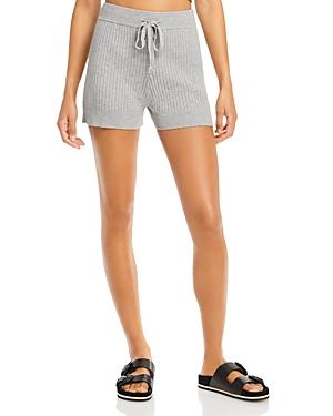 Aqua Ribbed Drawstring Shorts - 100% Exclusive