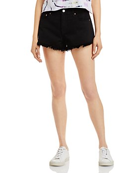 Pistola - Gigi Cut Off Denim Shorts in Black