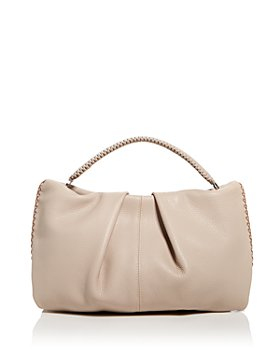 Callista - Iconic Maxi Pleated Leather Clutch