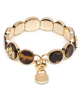 Ralph Lauren - Crest Tortoise Disc Stretch Bracelet