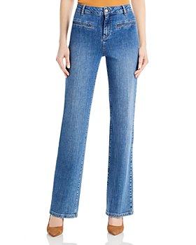 VANESSA BRUNO - Nello Straight Leg Trouser Jeans in Blue