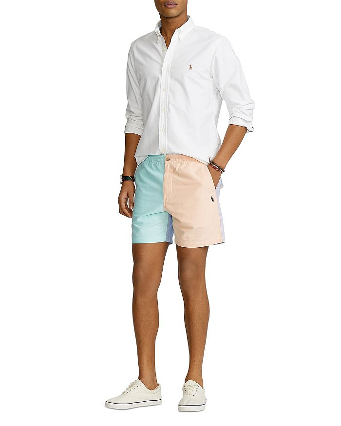 POLO RALPH LAUREN Shorts 6-INCH PREPSTER CLASSIC FIT COLOR BLOCKED SHORTS