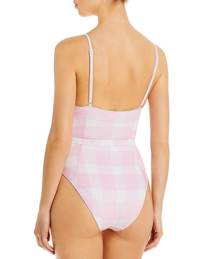 SOLID & STRIPED One-pieces THE SPENCER GINGHAM ONE PIECE SWIMSUIT
