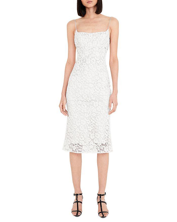 Bardot - Lace Bias Midi Dress