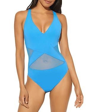 V Neck Mio One Piece Swimsuit