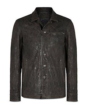 John Varvatos Collection - Slim Fit Leather Jacket