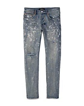 Purple Brand - Painters Jeans Slim Fit in Light Indigo