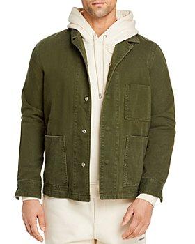 FRAME - Cotton Regular Fit Utility Jacket