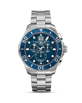 TAG Heuer - Aquaracer Chronograph with Bracelet Watch, 43mm