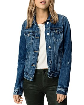 Joe's Jeans - The Standard Distressed Trucker Denim Jacket in Maurine