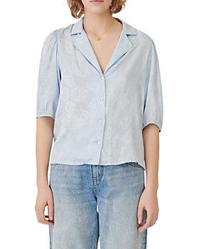 Maje - Cecilard Jacquard Viscose Shirt