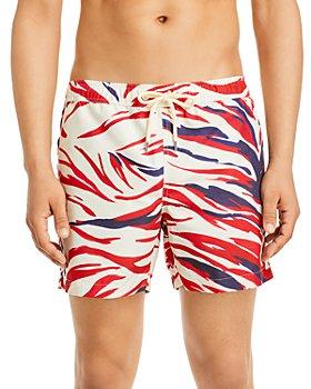 Moncler - Surf Print Swim Shorts