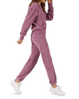 PAM & GELA - Terry Zip Hoodie & Gym Sweatpants