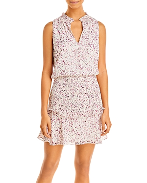 Aqua Smocked Mini Dress - 100% Exclusive
