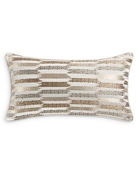 """Hudson Park Collection - Painterly Decorative Pillow, 12"""" x 22"""""""