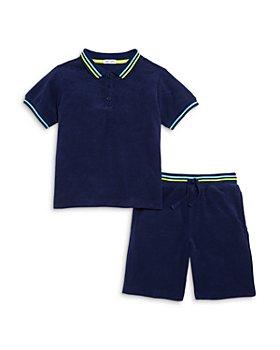 Splendid - Boys' Terry Polo Shirt & Shorts Set - Little Kid