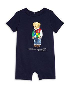 Ralph Lauren - Boys' Graphic Polo Bear Romper - Baby
