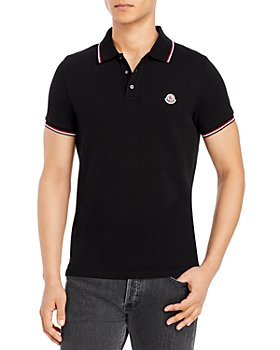 Moncler - Flag Trim Polo Shirt