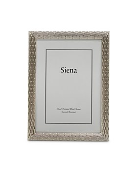 Siena - Silver Weave Frame Collection