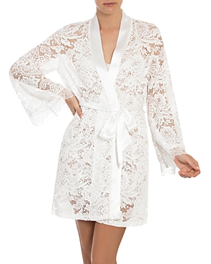 In Bloom By Jonquil IN BLOOM BY JONQUIL LACE WRAP ROBE