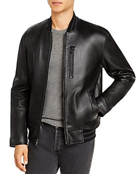 Michael Kors - Leather Bomber Jacket (66% off) - Comparable value $595