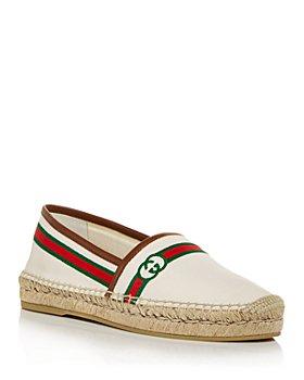 Gucci - Women's Pilar Embroidered Espadrille Flats