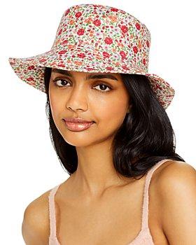 AQUA - Floral Print Bucket Hat - 100% Exclusive