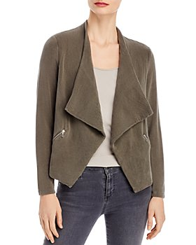 Majestic Filatures - French Terry Cascade Front Jacket