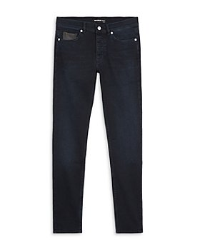 The Kooples - Raw Slim Fit Jeans in Blue