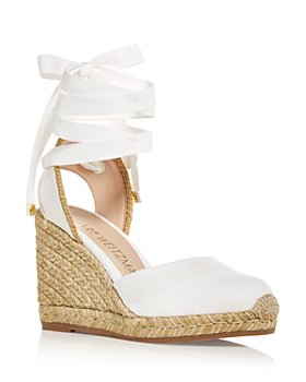 Stuart Weitzman - Women's Marguerita Wedge Platform Espadrille Sandals