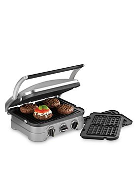 Cuisinart - Griddler with Waffle Plates