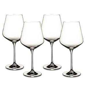Villeroy & Boch La Divina Red Wine Glasses, Set of 4