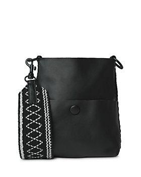 Callista - Grace Slim Mini Leather Messenger Bag
