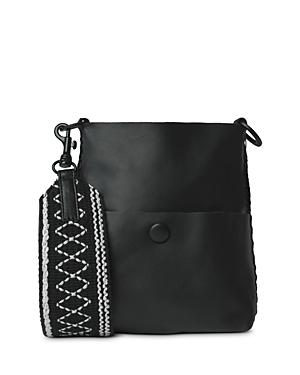 Grace Slim Mini Leather Messenger Bag