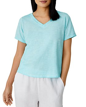 Eileen Fisher - Boxy Slubbed Tee