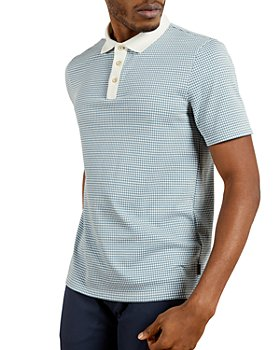 Ted Baker - Jacquard Short Sleeve Polo Shirt