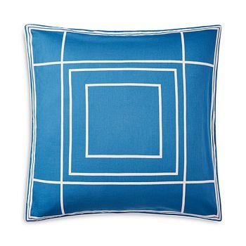 "Ralph Lauren - Sandra Geometric Decorative Pillow, 20"" x 20"""