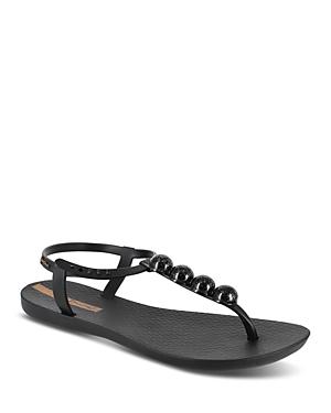 Women's Embellished Thong Sandals