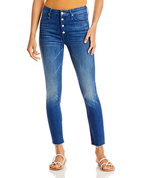 MOTHER - The Pixie Ankle Frayed Jeans in Second Thyme Around