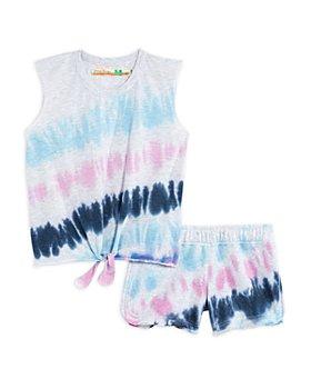 Vintage Havana - Girls' Tie Dye Sleeveless Shorts Set - Big Kid