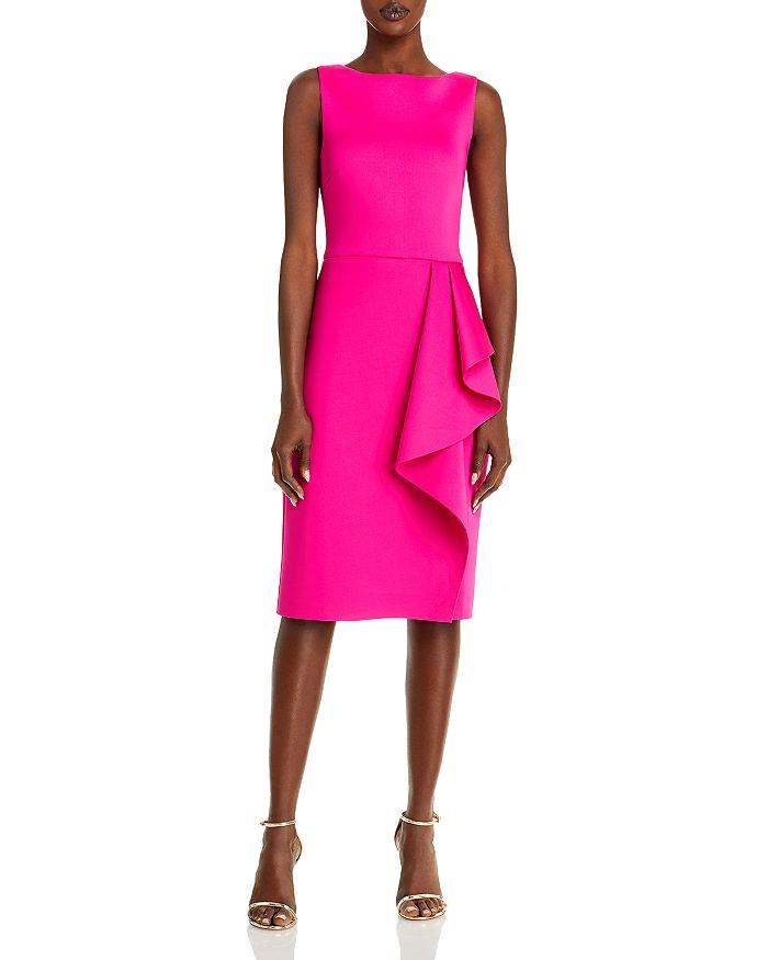 Eliza J - Sleeveless Side Tuck Ruffle Dress